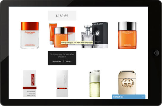 iPad responsive website