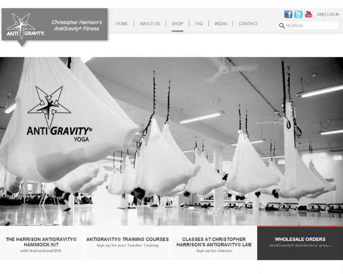 AntiGravity E-commerce